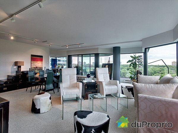 Living Room - 906-100 rue Berlioz, L'Ile Des Soeurs for sale