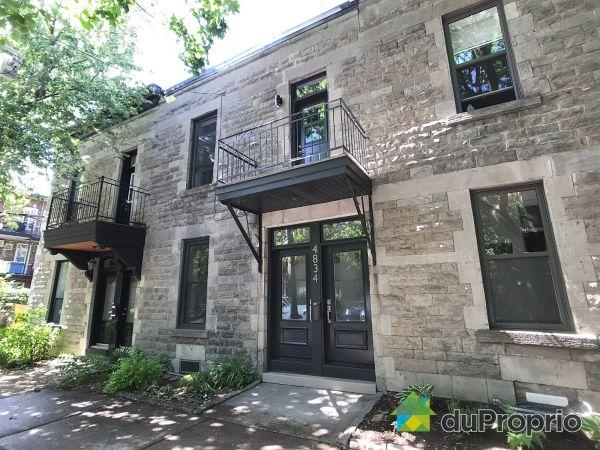 4834, rue Boyer, Le Plateau-Mont-Royal à vendre