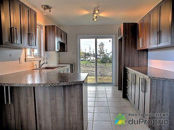 Cuisine - rue du Ciné-Parc - Jumelé avec sous-sol - Par Construction M.L. inc., Chicoutimi (Chicoutimi-Nord) à vendre