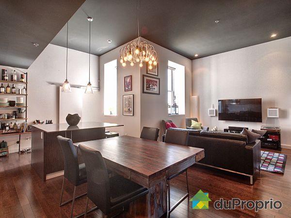 Dining Room / Living Room - 409-7400 boulevard Saint-Laurent, Villeray / St-Michel / Parc-Extension for sale