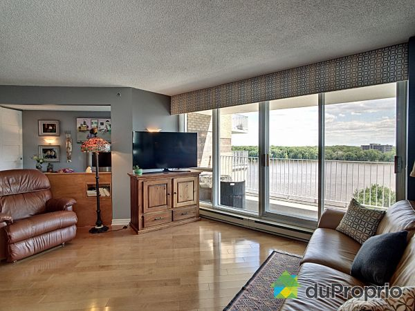 Apartment Living Room - 1006-4480 promenade Paton, Chomedey (Île Paton) for sale