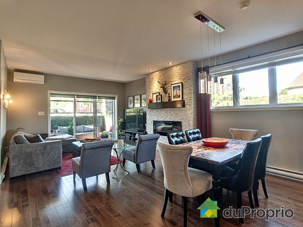 Living / Dining Room - A-185 rue des Grands-Châteaux, Gatineau (Aylmer) for sale