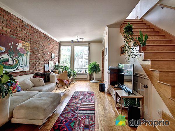 Salon - 4826-4830, rue de la Roche, Le Plateau-Mont-Royal à vendre