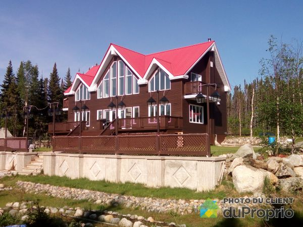 Overall View - 74 chemin du Domaine-Rustique, Chibougamau for sale