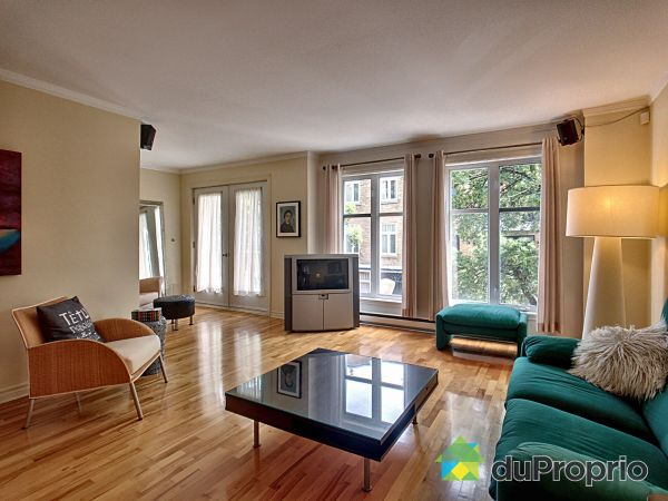 Living Room - 1-1484 RUE MONTCALM, Ville-Marie (Centre-Ville et Vieux Mtl) for sale