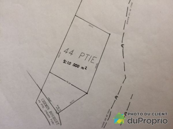Lot - XX chemin Bourget, Rigaud for sale