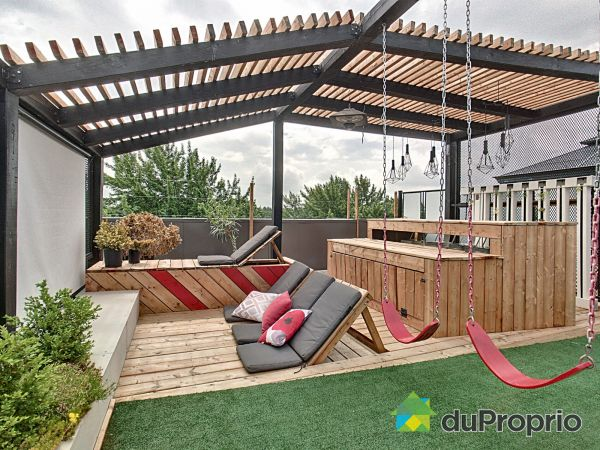 Roof terrace - 302-7921 rue George, LaSalle for sale