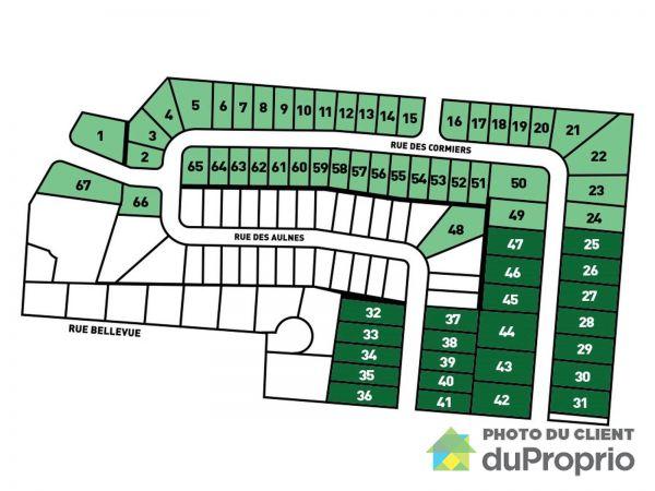 rue des Aulnes - Domaine de Boissel - Par A.G.P Couture et Fils inc., Beaumont à vendre
