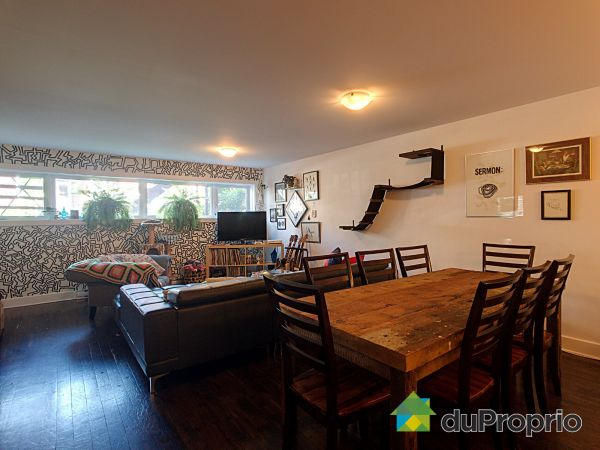 Living / Dining Room - A-6269 rue Mazarin, Le Sud-Ouest for sale