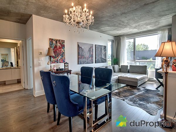 Living / Dining Room - 331-2000 rue des Bassins, Griffintown for sale