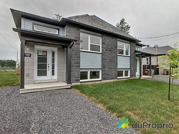 100, rue du Cabernet - Modèle Orford - Quartier Le Vigneron - Par Les Entreprises Lachance, Drummondville (Drummondville) à vendre