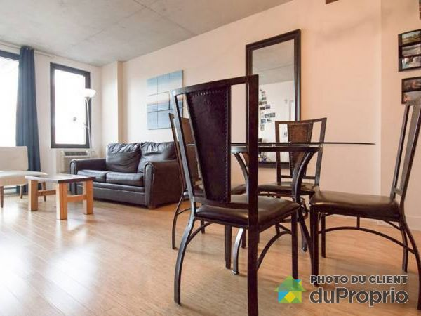 Living / Dining Room - 726-950 RUE NOTRE-DAME O, Griffintown for sale