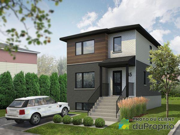 45, rue Charbonneau - Modèle à construire - Par Habitat SK7 inc., Longueuil (Vieux-Longueuil) à vendre