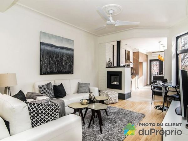 Living / Dining Room - 4427 rue Marquette, Le Plateau-Mont-Royal for sale