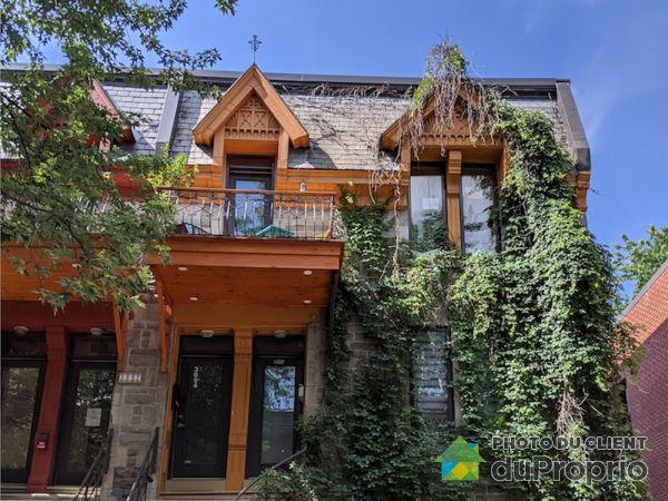 Summer Front - 3894 rue Berri, Le Plateau-Mont-Royal for sale