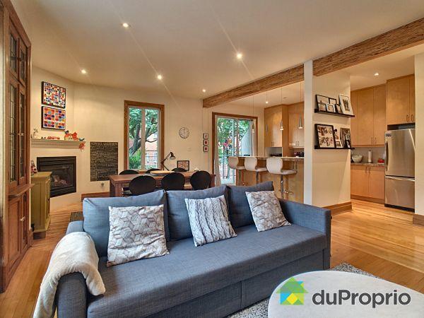 Living / Dining Room - 4391 avenue Marcil, Côte-des-Neiges / Notre-Dame-de-Grâce for sale
