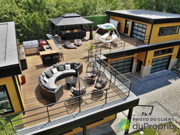 Roof terrace - 1080 rue des Lucioles, St-Jean-Chrysostome for sale