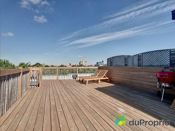 Roof terrace - 302-3378 rue Francois-Perreault, Villeray / St-Michel / Parc-Extension for sale