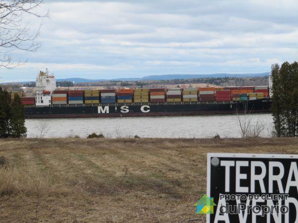 Vue sur le fleuve - XX, route Marie-Victorin, St-Louis-de-Lotbinière à vendre