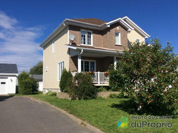 Rear View - 22 rue des Pivoines, Métabetchouan-Lac-à-la-Croix for sale