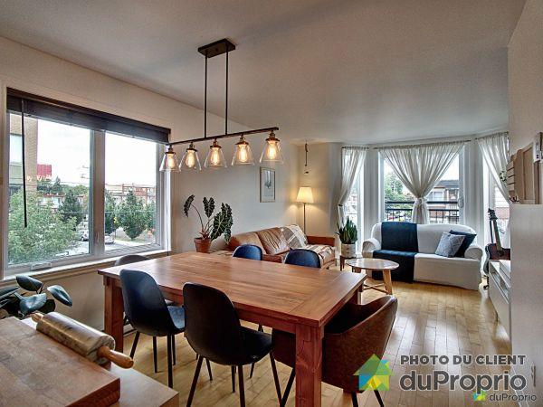 Living / Dining Room - 6-3731 rue Everett, Villeray / St-Michel / Parc-Extension for sale