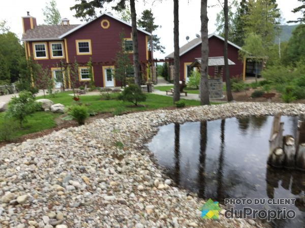 Garden - 5 chemin du Boisé, Port-Au-Persil for sale