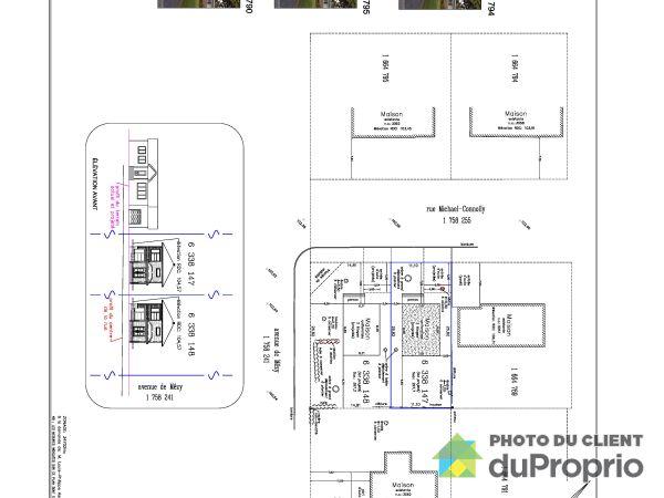 Plan du terrain - 3061, rue Michael-Connolly, Ste-Foy à vendre