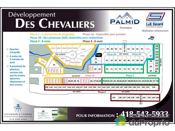 rue Delisle, Chicoutimi (Chicoutimi-Nord) for sale