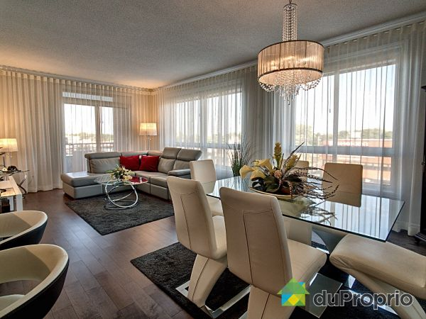 Dining Room / Living Room - 410-7705 rue Sherbrooke Est, Mercier / Hochelaga / Maisonneuve for sale