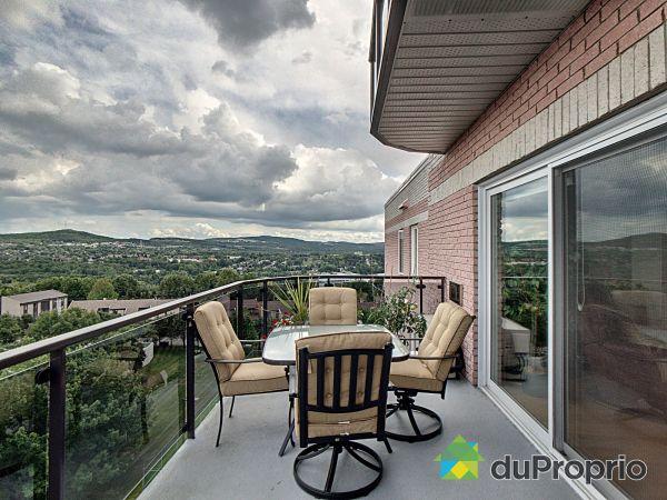 Balcon - 606-190, rue Don-Bosco Nord, Sherbrooke (Jacques-Cartier) à vendre