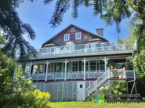 Rear Balcony - 415 chemin des Falaises, La Malbaie (Pointe-Au-Pic) for sale