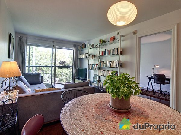 Dining Room / Living Room - 306-2560 rue Bélanger, Rosemont / La Petite Patrie for sale