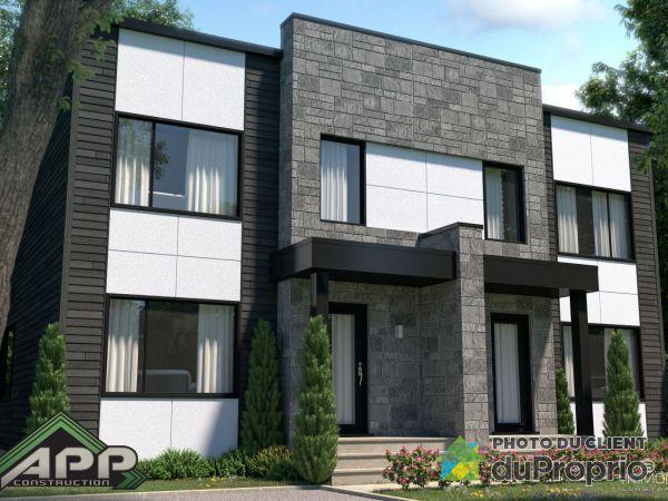 Nouveau Projet sur le coin du 984 Bourg-Royal et  Carrée De Tracy Est.- Par Construction APP inc., Charlesbourg for sale
