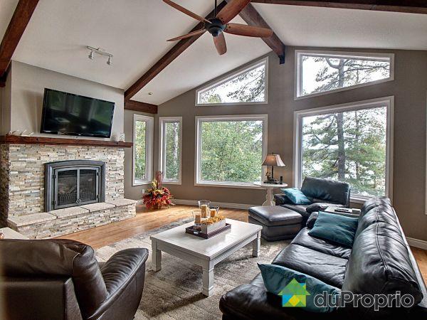 Salle de séjour - 536, Rte. 301, Otter Lake à vendre