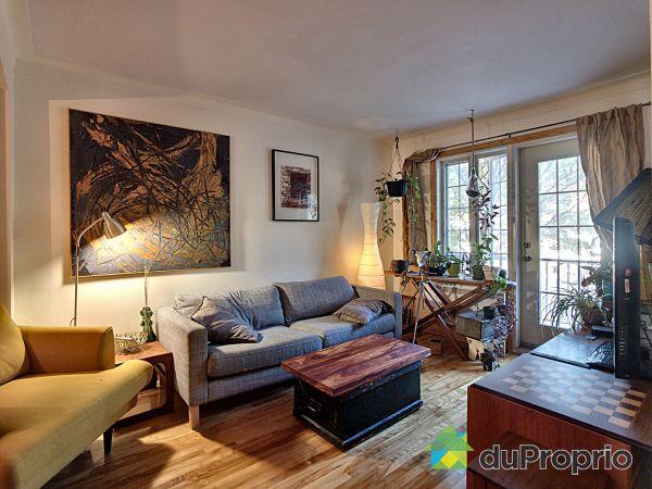 Living Room - 2456-2458, rue L.-O.-David, Villeray / St-Michel / Parc-Extension for sale