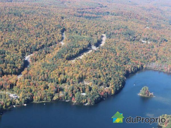 Aerial View - Lot 34 - Lac McGregor - Chemin du Rubis, Val-Des-Monts for sale