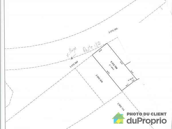 Lot -  route 132, Ste-Barbe for sale