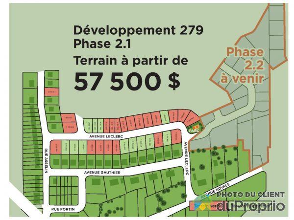 avenue Leclerc - Phase 2, St-Charles-De-Bellechasse à vendre