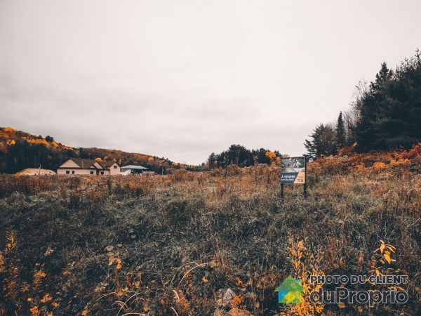 33, chemin de la Moisson - Lot #15, Val-Des-Monts à vendre