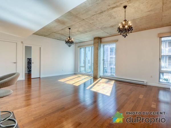 Living / Dining Room - 304-90 rue Prince, Ville-Marie (Centre-Ville et Vieux Mtl) for sale