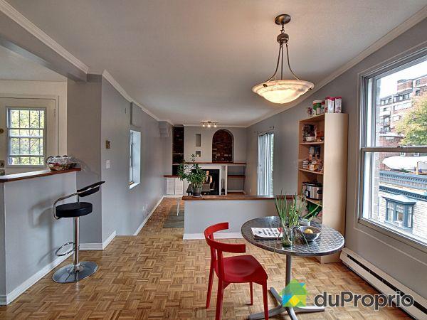 Dining Room / Living Room - 3-490 rue Prince-Arthur Ouest, Le Plateau-Mont-Royal for sale