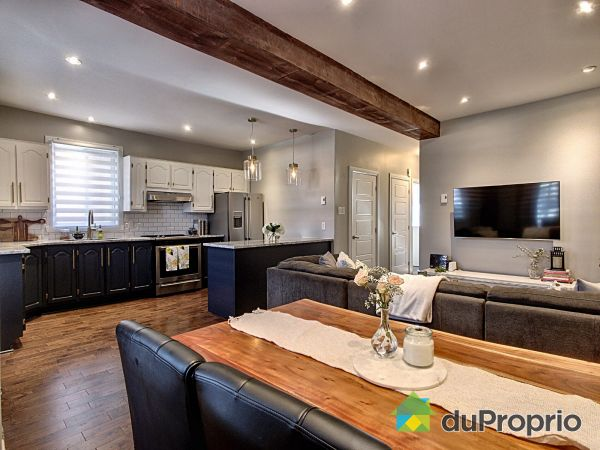 Dining Room / Living Room - 9147-9149, rue Foucher, Ahuntsic / Cartierville for sale