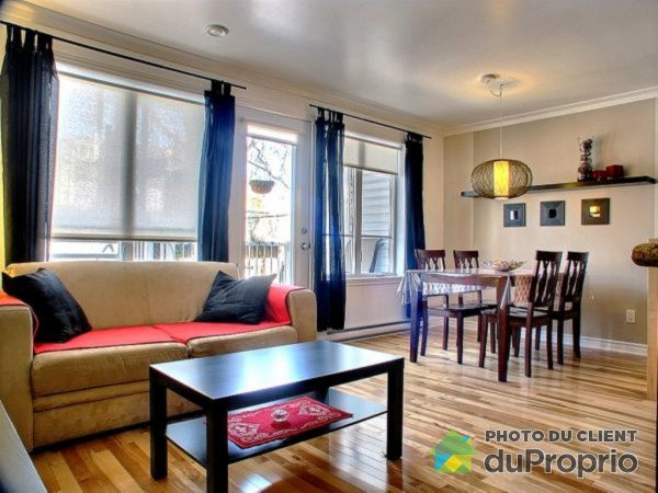 Living / Dining Room - 104-2141 rue Augustin-Cantin, Le Sud-Ouest for sale
