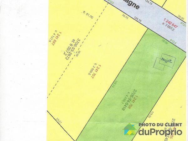 Terrain - 124, chemin de la Montagne, Stoneham à vendre