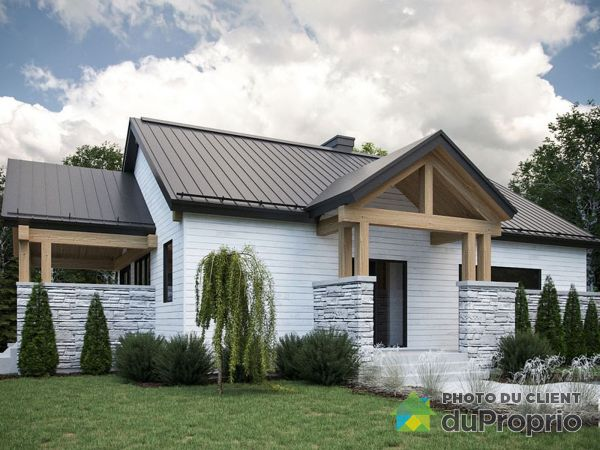 Modèle Kamouraska - Projet Mont des Cépages - Par Habitation Mégatech, St-Hippolyte à vendre