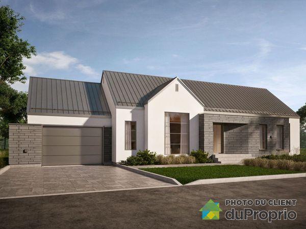 Modèle Hampton - Projet Mont des Cépages - Par Habitation Mégatech, St-Hippolyte à vendre