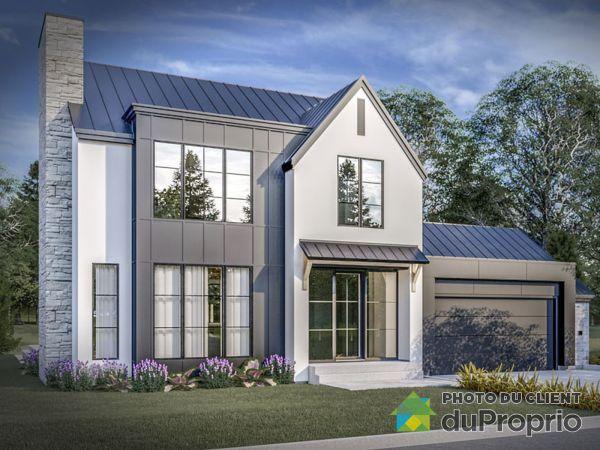 Modèle Reston - Projet Mont des Cépages - Par Habitation Mégatech, St-Hippolyte à vendre