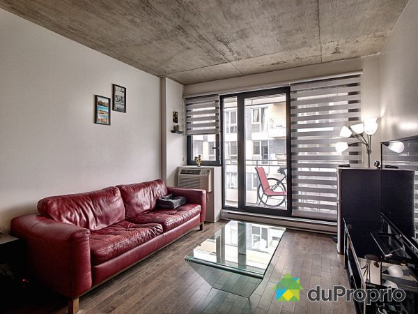 Living Room - 602-297 rue du Shannon, Griffintown for sale