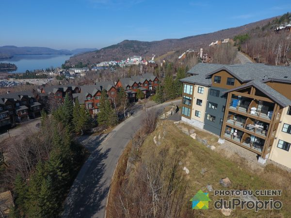 Aerial View - 203-115 chemin des Sous-Bois, Mont-Tremblant for sale
