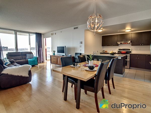 Dining Room / Living Room - 1360-10650 place de l'Acadie, Ahuntsic / Cartierville for sale